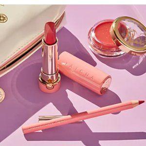 NIB limited edition Tatcha lip kit
